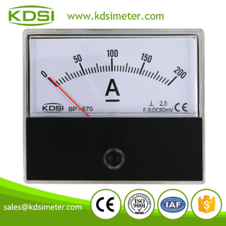 Hot Selling Good Quality BP-670 DC60mV 200A dc panel ampere controller