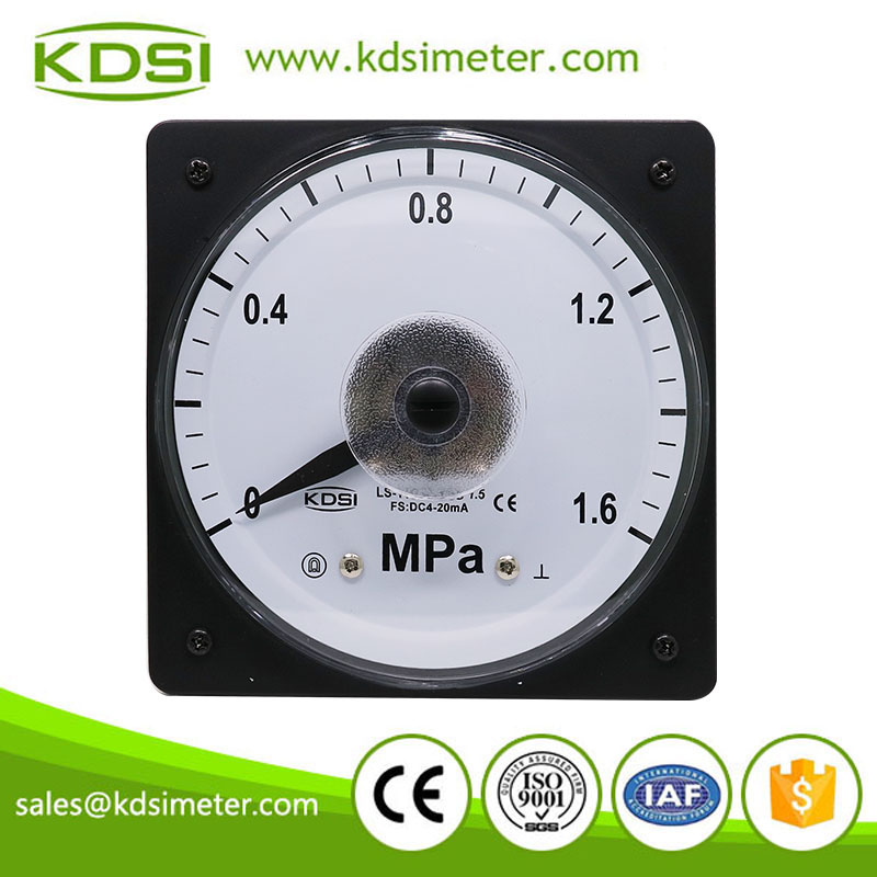 Hot Selling Good Quality LS-110 4-20mA 1.6MPa panel pressure electric meter analog