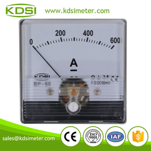CE Approved BP-60N DC60mV600A panel analog ammeter