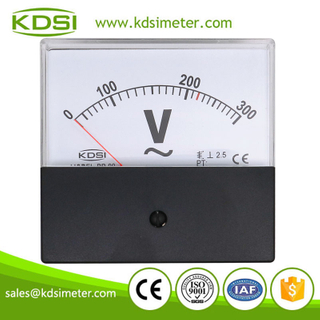 Factory direct sales BP-80 AC300V black cover panel analog ac ammeter ac voltmeter