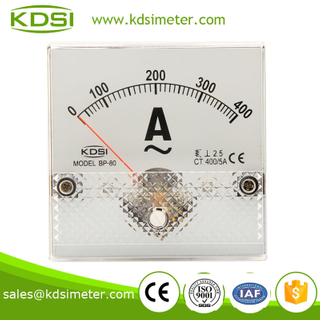 KDSI electronic apparatus BP-80 80*80 AC400/5A panel mount ammeter