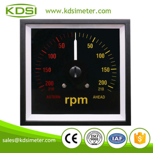 Factory direct sales BE-96W DC+-10V +-210rpm backlighting wide angle panel led rpm meter