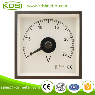 BE-96W DC Voltmeter DC25V wide angle meter for marine