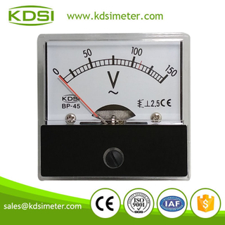 High quality professional BP-45 AC Voltmeter AC150V ac voltmeter display