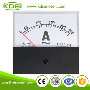 Hot Selling Good Quality BP-80 AC250/5A with black cover ac analog panel ampere meter
