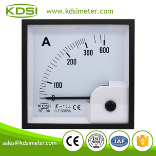 KDSI electronic apparatus BE-96 AC300/5A ac analog panel ampere indicator