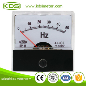 High quality professional BP-45 DC10V 50Hz analog voltage frequency panel meter
