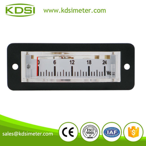 High quality BP-15 DC24V analog panel mini thin edgewise small voltmeter