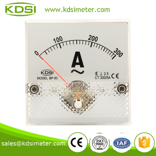 Factory direct sales BP-80 80*80 AC300/5A analog ammeter