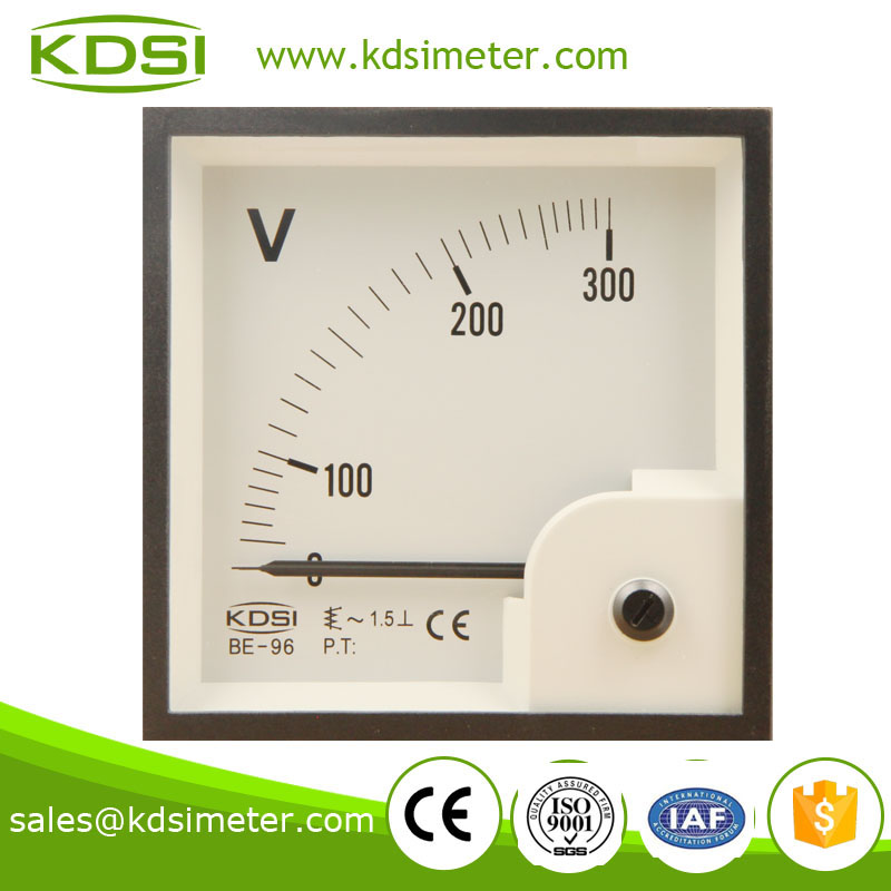 BE-96 96*96 AC Voltmeter AC300V vehicles voltage meter