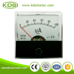 New model classical type BP-45 DC100uA analog microammeter