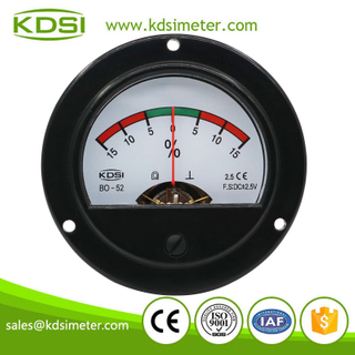 Small & high sensitivity BO-52 DC+-2.5V +-15% analog panel round voltage load meter