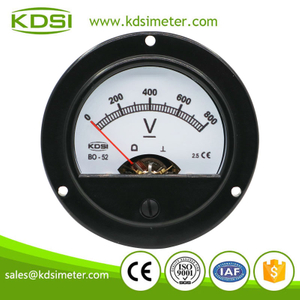 KDSI electronic apparatus BO-52 DC800V direct panel analog dc voltmeter