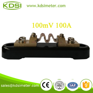 High quality professional Shunt 100MV 100A copper shunt