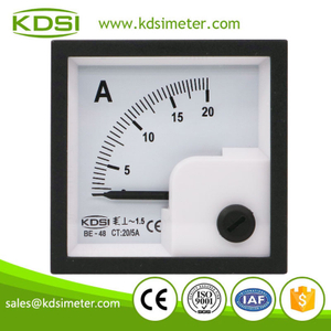Hot Selling Good Quality BE-48 AC20/5A no overload ac analog mini ammeter with output