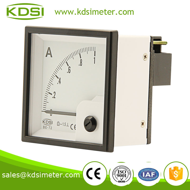 20 years Professional Manufacturer BE-72 DC Ammeter DC1A panel ammeter