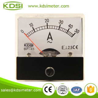 Waterproof BP-45 AC50A inductive ampere meter