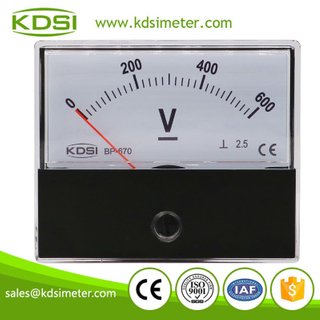 Factory direct sales BP-670 DC600V dc analog high voltage panel meter