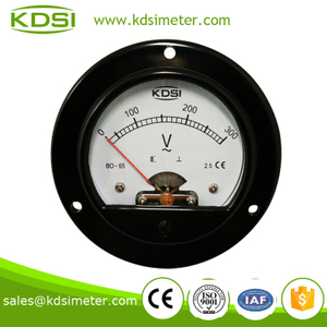 Round type new style BO-65 AC300V electronic voltmeter
