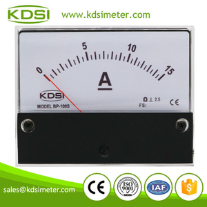 New design BP-100S DC15A direct dc panel electric meter analog