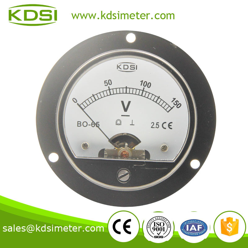 BO-65 DC Voltmeter DC150V KDSI high quality professional analog panel meter