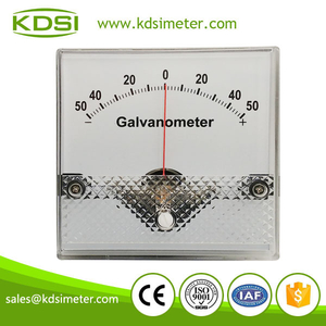 20 Years Manufacturing Experience BP-80 80*80 DC+-25uA +-50uA analog dc galvanometer