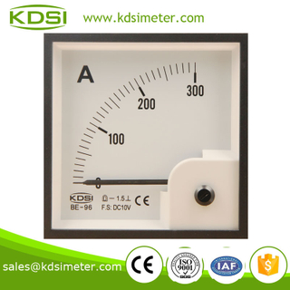 High quality BE-96 96*96 DC10V 300A analog current meter