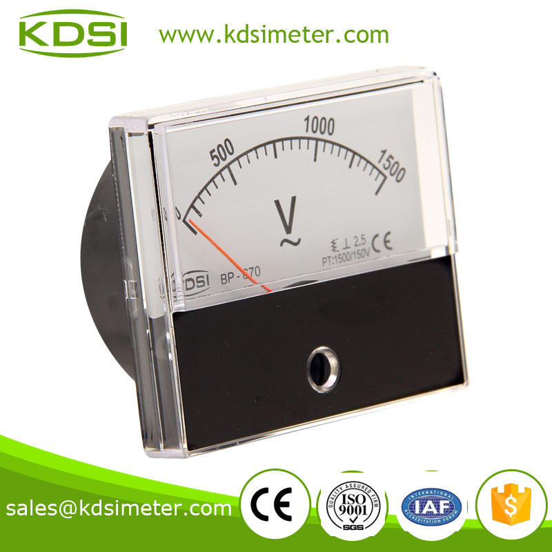 KDSI electronic apparatus BP-670 60*70 AC1500/150V super-mini voltmeter