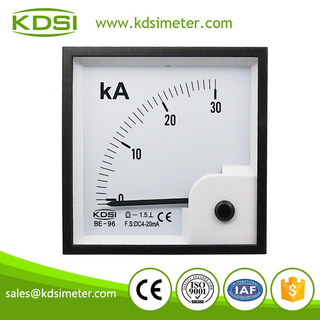 Taiwan technology BE-96 96*96 DC4-20mA 30KA high precision dc current meter