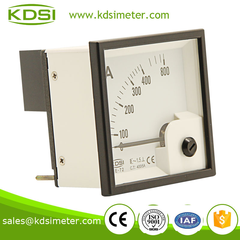Easy operation BE-72 72*72 AC400/5A mini current meter