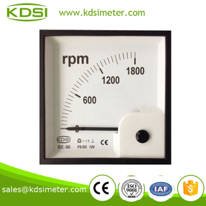 Taiwan Technology BE-96 96 * 96 DC12V 1800RPM voltage tachometer