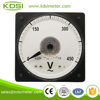 Square type LS-110 AC450V electronic voltmeter