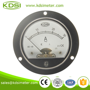 BO-65 AC Ammeter AC30A CE Certificate round type panel meter