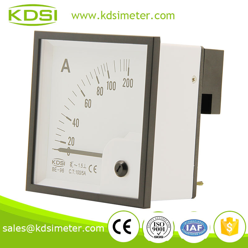 KDSI electronic apparatus BE-96 96*96 AC100/5A micro ammeter
