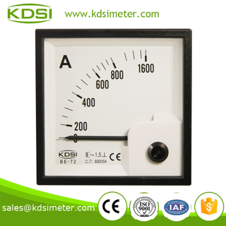Waterproof BE-72 AC800 / 5A electric current meter