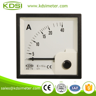 Easy installation BE-72 AC20A ammeter voltmeter