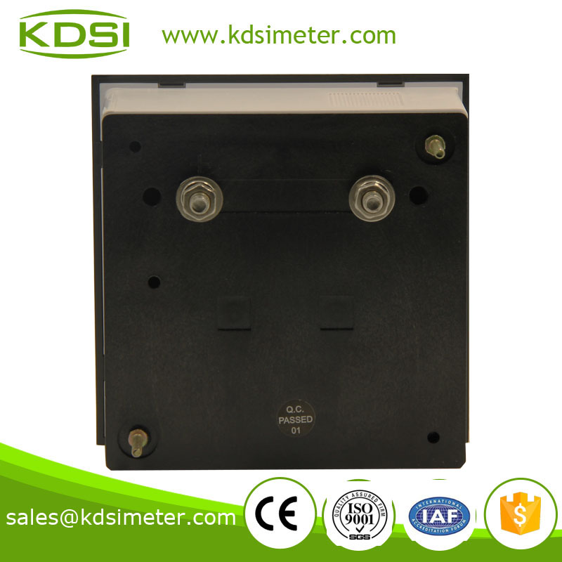 High quality professional BE-96 55-65Hz 1650-1950rpm 220v analog panel frequency Hz+ rpm meter