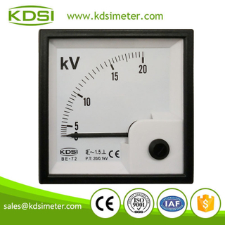 Hot Selling Good Quality BE-72 AC20/0.1KV 20KV electronic voltmeter
